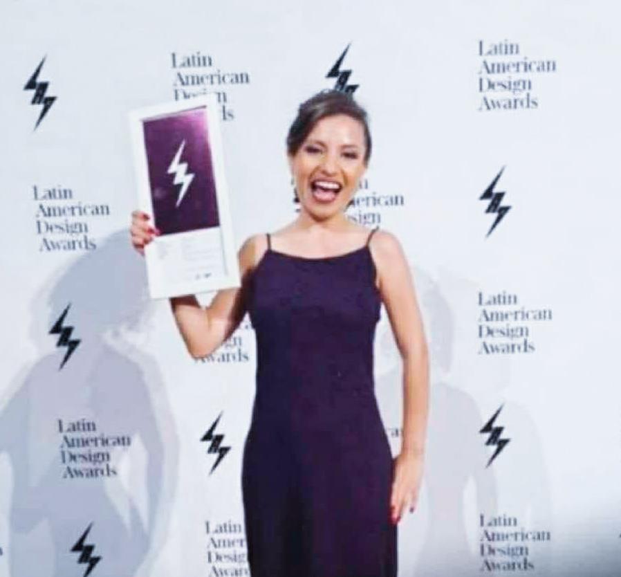 Nora Castillo ganó premio en Latin American Design Awards 2020