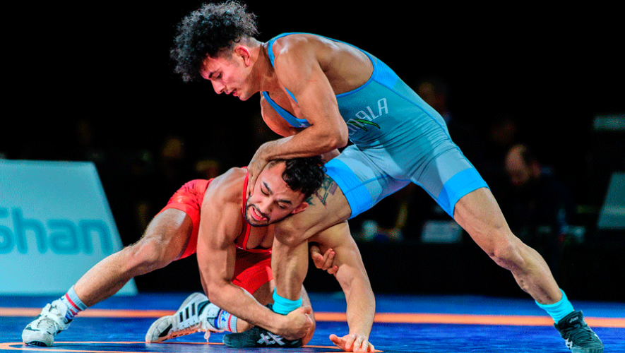 Rumbo a Tokio 2020: Luchadores guatemaltecos sueñan con su pase a Juegos Olímpicos