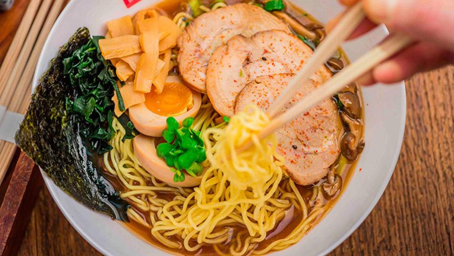 Taller de cocina para aprender a preparar ramen y gyoza   Marzo 2020