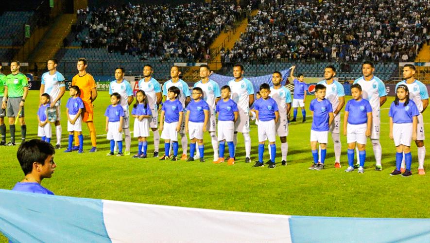 Transmisión en vivo del partido amistoso Guatemala vs. Panamá, marzo 2020