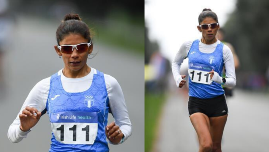 Mirna Ortiz se colgó el oro en el Campeonato Nacional de Irlanda 2020