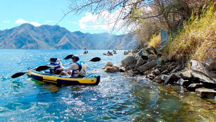 Viaje y recorrido en kayak en la Laguna de Ayarza | Marzo 2020