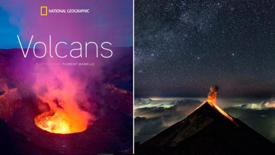 Volcán de Pacaya y Volcán de Fuego forman parte del libro Volcans de National Geographic