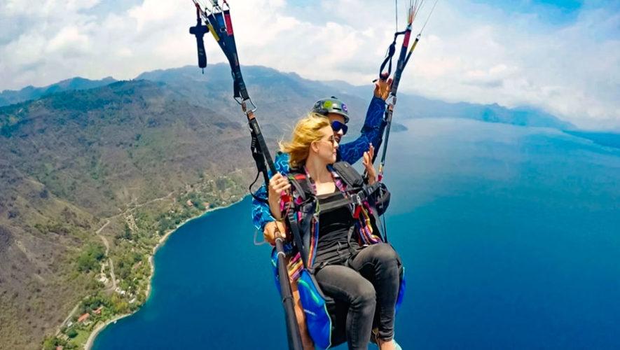 Vuelo en parapente en el Lago de Atitlán | Mayo 2020