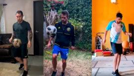 38 futbolistas de la Liga Nacional se unen a reto viral en redes sociales