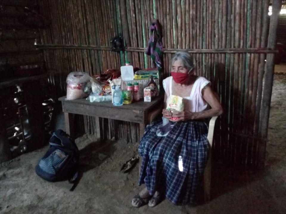 Adopta a un abuelito de Purulhá, Baja Verapaz, iniciativa que busca donarles víveres