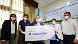 CBC hace donación para equipar los hospitales temporales de Guatemala