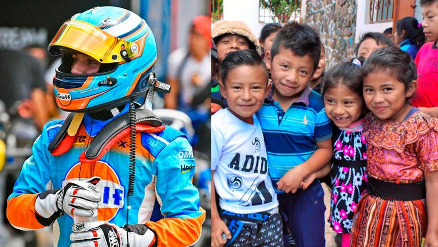 COVID-19: Mateo Llarena mostró su solidaridad con el Hogar de niños Fátima