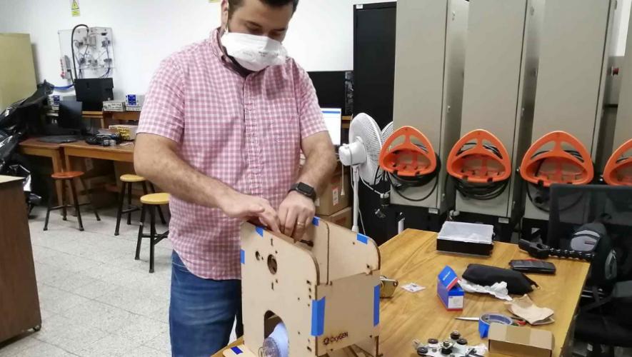 Universidad del Valle de Guatemala crea máquina de ventilación automática