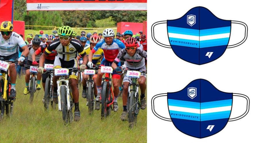 COVID19: Ciclistas federados recibirán donación de mascarillas