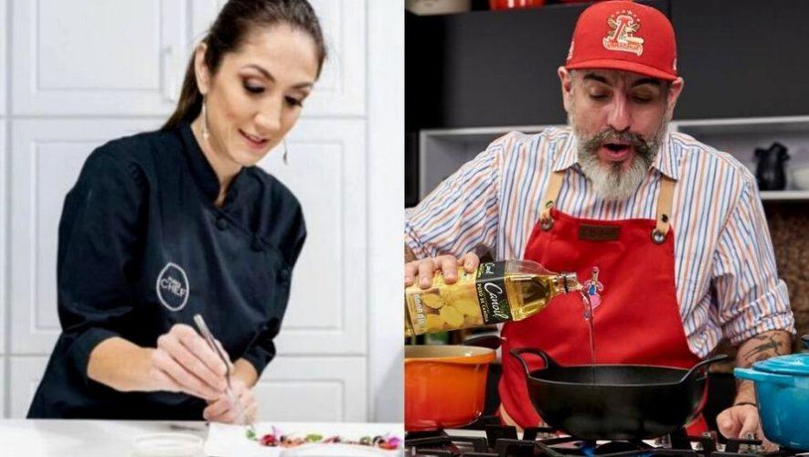 Charla virtual con los chefs Mirciny Moliviatis y Aquiles Chávez | Abril 2020