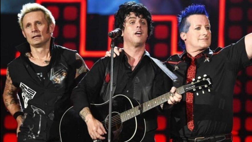Hora en Guatemala del concierto en línea de Green Day | Abril 2020