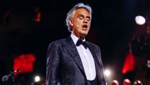 Concierto gratuito en línea de Andrea Bocelli | Abril 2020