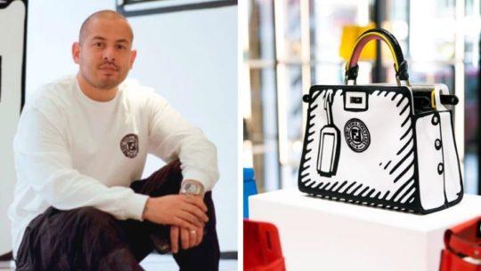 Diseñador guatemalteco, Joshua Vides, ha sido elegido para trabajar con la marca Fendi