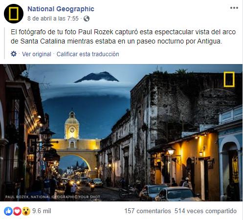 Foto en la calle del Arco Antigua Guatemala