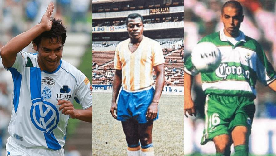 Futbolistas guatemaltecos que han jugado para equipos de México