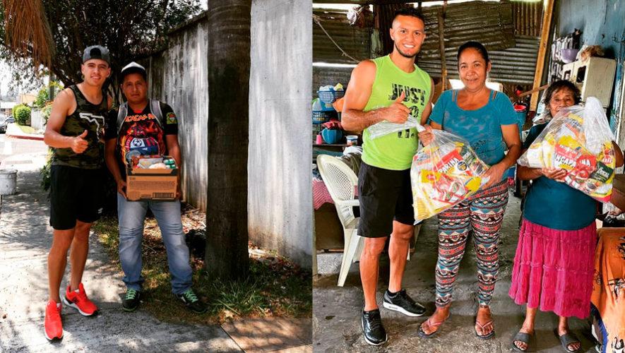 #FutbolistasGTChallenge: El reto de los jugadores para ayudar a las personas necesitadas