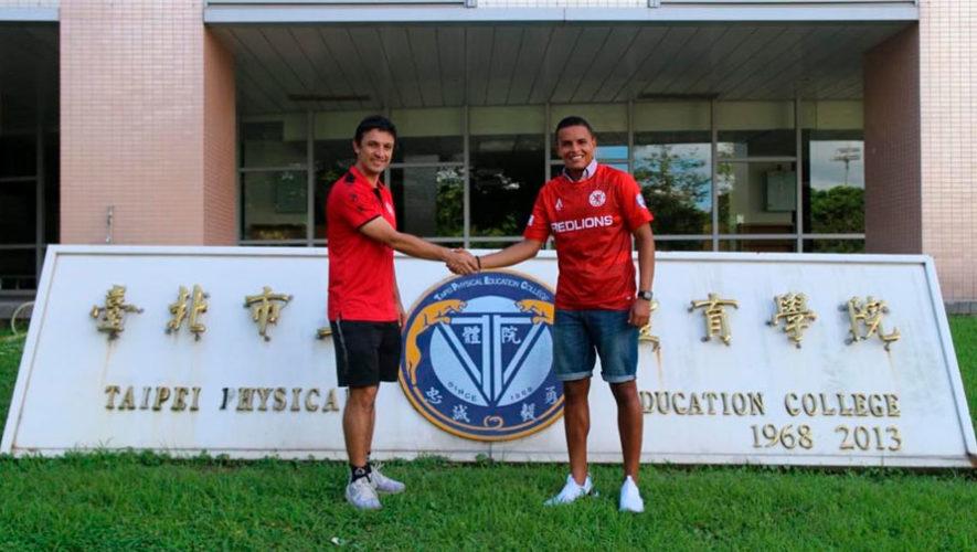 Gerardo Rabre afrontará su segunda temporada con el Red Lions FC de Taiwán