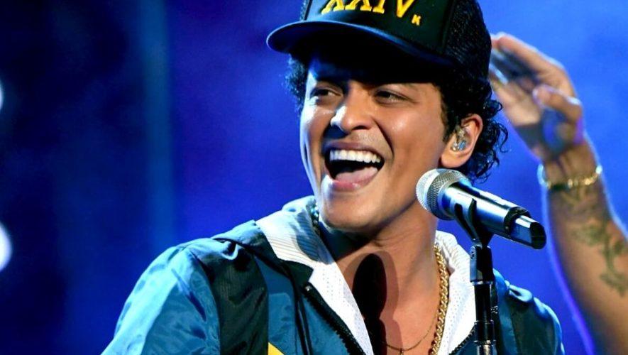 Hora en Guatemala del concierto en línea de Bruno Mars   Abril 2020