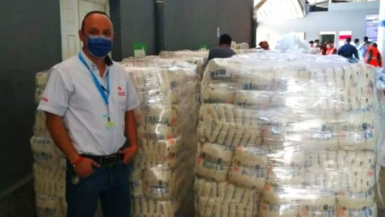 Ingenios de Guatemala donaron azúcar para familias de escasos recursos