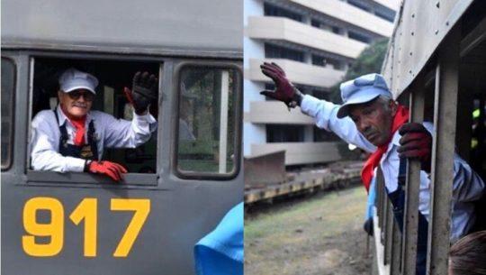 Los maquinistas que le han dado vida al ferrocarril por más de 40 años