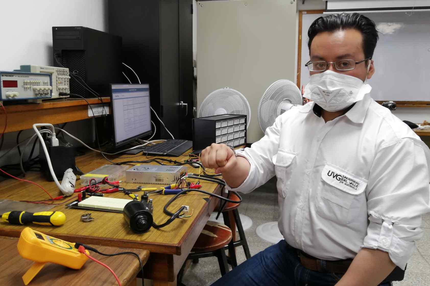 Máquina de ventilación UVG