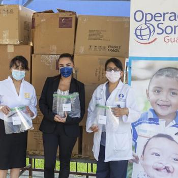 Operación Sonrisa hace donativo para apoyar a guatemaltecos afrontar la crisis del COVID-19 1