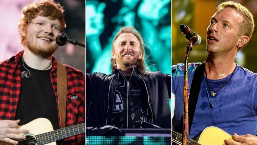 Play On Fest, conciertos en línea de Ed Sheeran, Bruno Mars, Coldplay y más   Abril 2020