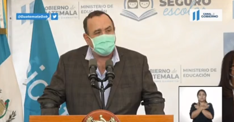 Programa seguro escolar Guatemala