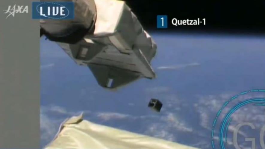 Quetzal 1 primer satélite guatemalteco ya está en el espacio y comenzará su misión