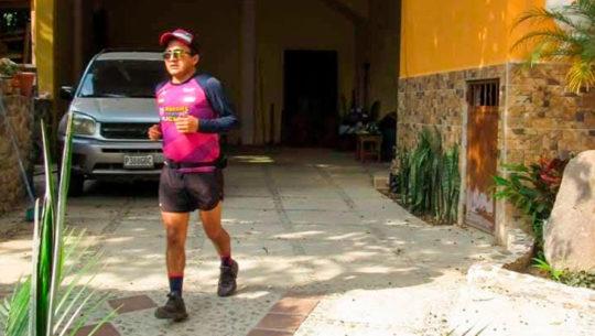 Rudy García motiva a los guatemaltecos a entrenar en casa corriendo ultramaratón de 50K
