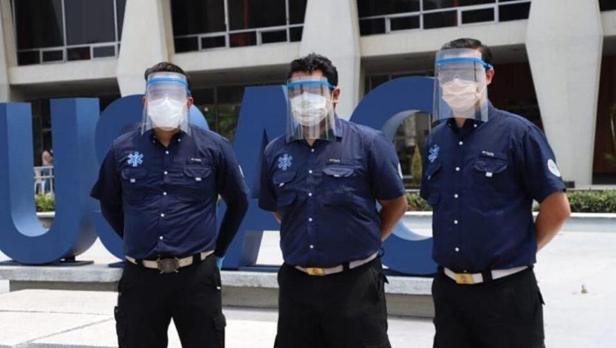 USAC y Guateplast se unieron para donar mascarillas a hospitales públicos del país