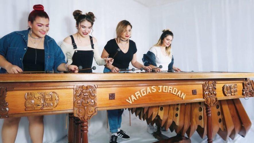 V4jor Sisters, grupo guatemalteco destaca por sus interpretaciones en marimba (1)