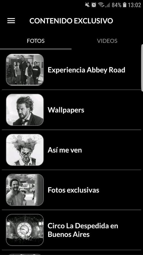 App Ricardo Arjona Blanco
