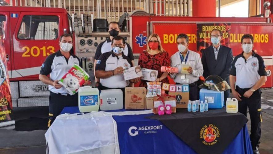 Bomberos Voluntarios de 134 compañías recibieron donación de equipo de protección personal