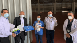COVID-19: Cáritas Arquidiocesana donó más de 24 mil suministros médicos a hospital temporal