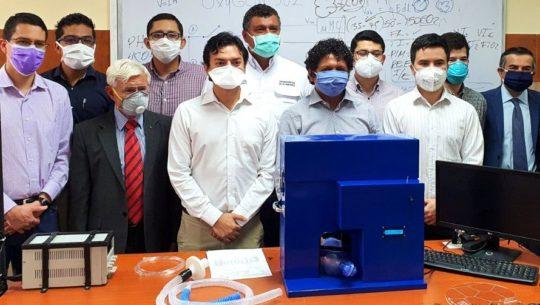 Grupo de profesionales guatemaltecos desarrollaron un prototipo de ventilador artificial.