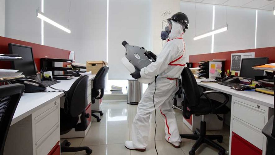 COVID-19: Medidas de sanitización de espacios físicos en Guatemala