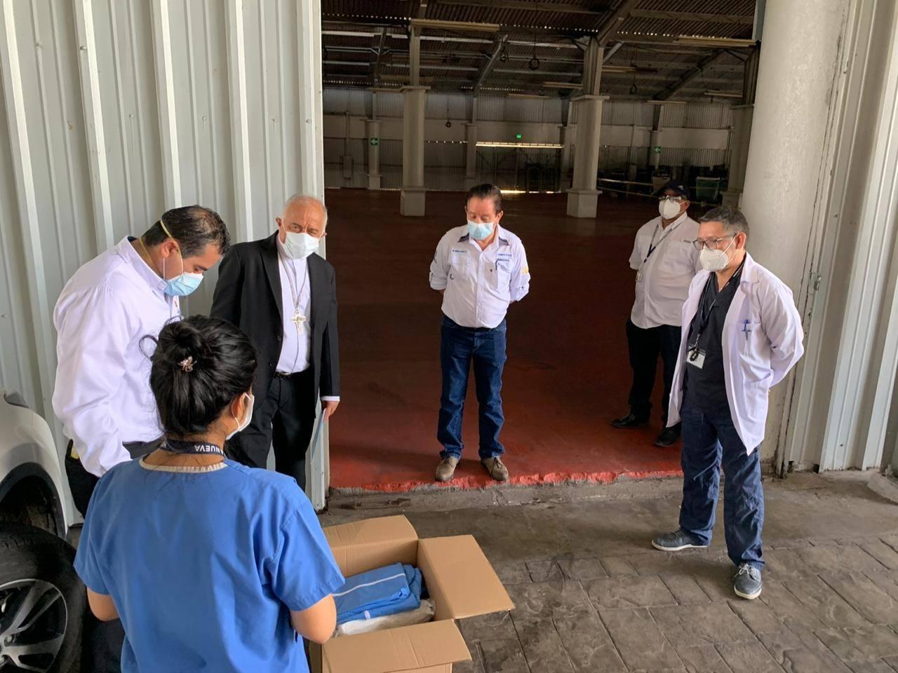 Cáritas Arquidiocesana donó más de 24 mil suministros médicos a hospital temporal