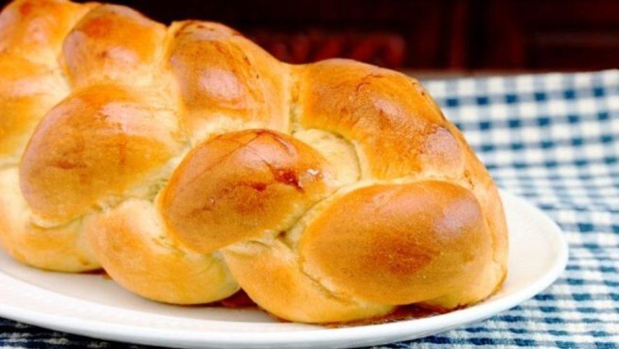 Clase de cocina para elaborar una trenza de pan rellena   Mayo 2020