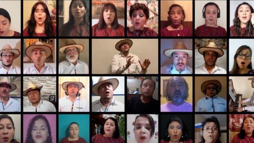 Coro Nacional de Guatemala destacó en programa de Telemundo por interpretación de Luna de Xelajú