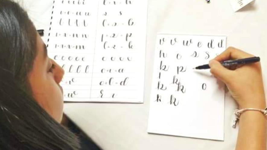Curso en línea de lettering para principiantes | Mayo 2020