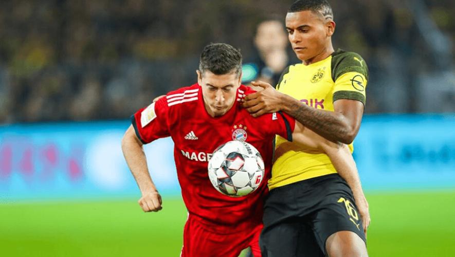 Fecha y hora para ver en Guatemala el clásico Dortmund vs. Bayern Múnich, mayo 2020