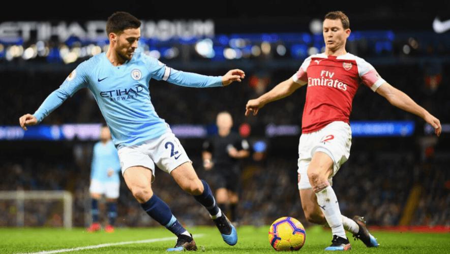 Fecha y hora para ver en Guatemala el partido Manchester City vs. Arsenal, junio 2020
