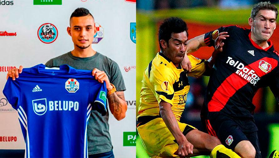 Jugadores guatemaltecos que han visto acción en el fútbol de Europa