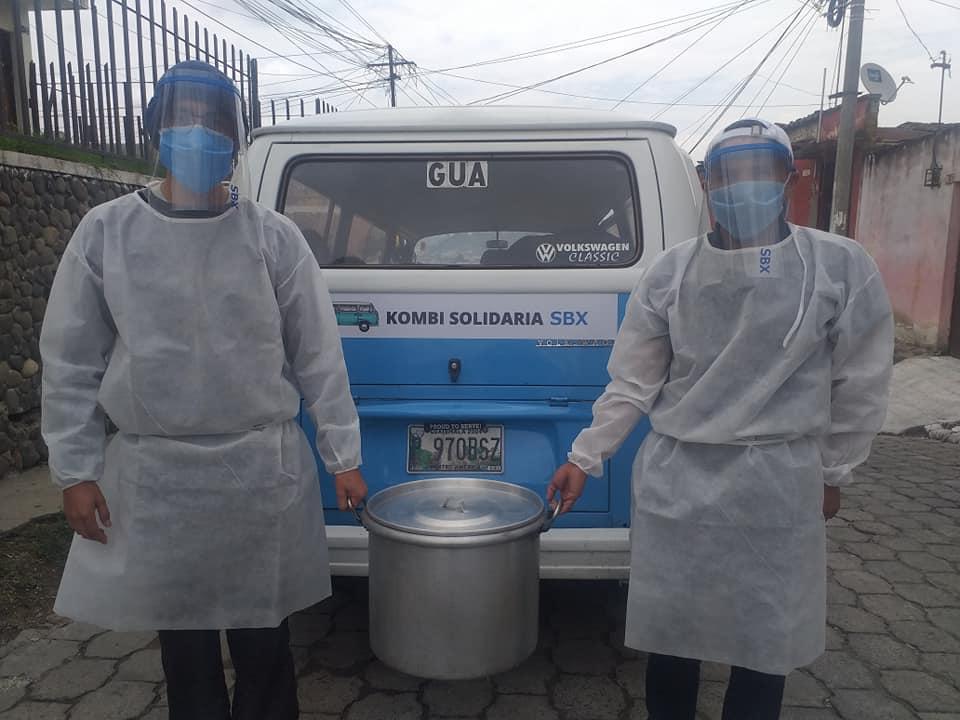 La Kombi Solidaria en Quetzaltenango