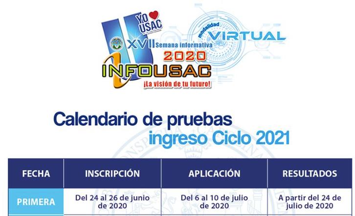 Primera fecha de inscripción para las pruebas de conocimientos básicos USAC