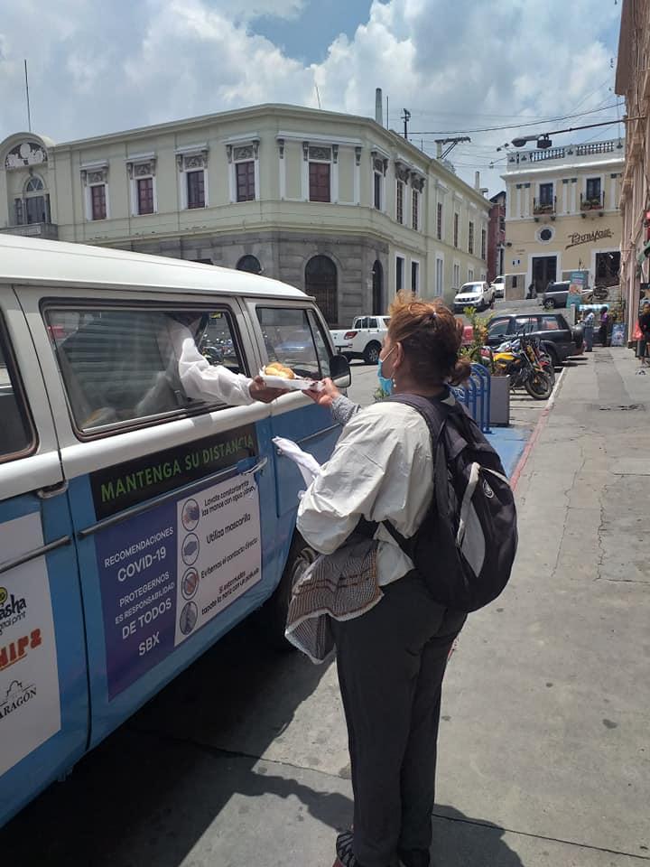 Quieres unirte a la iniciativa Kombi Solidaria Quetzaltenango
