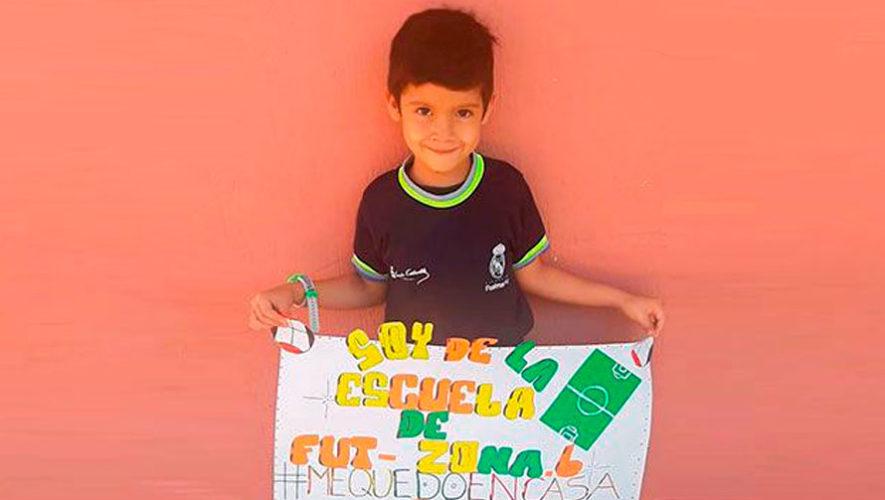 Real Madrid resalta a niños guatemaltecos por ser ejemplo para escuelas de otros países