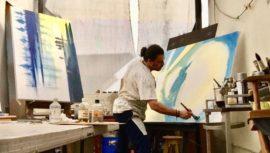 Subasta y venta de arte a beneficio de los programas de Rayuela y Help Guatemala